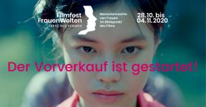 Vorverkauf Filmfest FrauenWelten gestartet